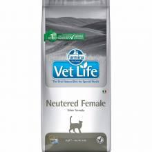 Farmina Vet Life Cat Neutered Female ветеринарный диетический сухой корм для взрослых стерилизованных кошек -  2 кг (5 кг) (10 кг)