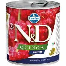 Farmina N&D Digestion влажный корм для взрослых собак с проблемами пищеварения с киноа и ягненком - 285 г х 6 шт