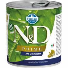 Farmina N&D Prime влажный корм для собак с ягненком и черникой - 285 г х 6 шт