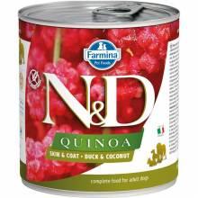 Farmina N&D влажный корм для взрослых собак с киноа, уткой и кокосом - 285 г х 6 шт