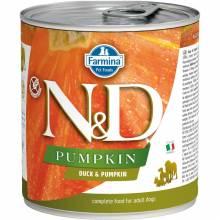 Farmina N&D влажный корм для взрослых собак с тыквой и уткой - 285 г  х 6 шт