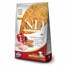 Farmina N&D сухой корм для щенков мелких пород низкозерновой с курицей и гранатом - 2,5 кг (7 кг)