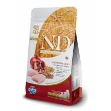 Farmina N&D Low Grain Dog Chicken&Pomegranate Starter Puppy сухое питание для щенков во время отлучения до двух месяцев с курицей и гранатом 800 гр