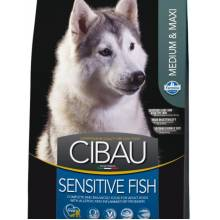 Farmina Cibau Sensitive Fish Medium & Maxi корм для собак 2,5 кг (12 кг)