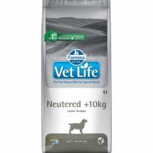 Farmina Vet Life Dog Neutered +10kg ветеринарный диетический сухой корм для взрослых стерилизованных или кастрированных собак +10 кг весом -  2 кг (12 кг)