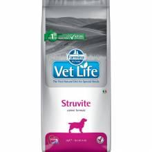 Farmina Vet Life Dog Struvite ветеринарный диетический корм для взрослых собак с мочекаменной болезнью струвитного типа 2 кг (12 кг)
