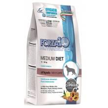 Forza10 Medium Diet сухой корм для взрослых собак средних пород из ягненка с микрокапсулами 1,5 кг (12 кг)