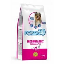Forza10 Maintenance для взрослых собак средних пород из трески, голубого тунца и лосося 2 кг (15 кг)