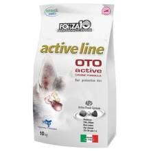 Forza10 Active Line для взрослых собак всех пород с заболеванием слуховых органов 4 кг (10 кг)