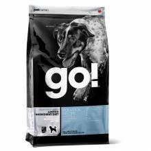 GO! Sensitivity + Shine GF сухой беззерновой корм для щенков и собак для чувствительного пищеварения с минтаем 2,72 кг (10 кг)