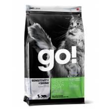 GO! Sensitivity + Shine GF сухой беззерновой корм для котят и кошек с форелью и лососем 1,82 кг (3,63 кг) (7,26 кг)