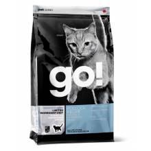 GO! Sensitivity + Shine GF сухой беззерновой корм для котят и кошек для чувствительного пищеварения с треской 1,82 кг (3,63 кг), (7,26 кг)