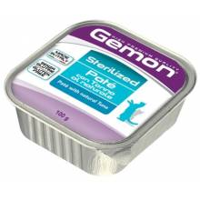 Gemon Cat Sterilised для кошек паштет с тунцом 32 шт х100 гр