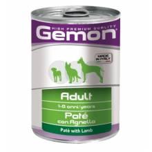 Gemon Dog консервы для собак паштет ягненок - 400 гр х 24 шт