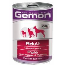 Gemon Dog консервы для собак паштет говяжий рубец - 400 гр х 24 шт