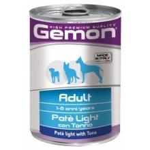 Gemon Dog Light консервы для собак облегченный паштет тунец - 400 гр х 24 шт
