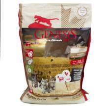 Genesis Pure Canada My Little Farm Kitten сухой корм для котят, беременных и кормящих взрослых кошек с уткой, козой и курицей - 2,268 кг