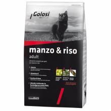 Golosi Cat Adult сухой корм для кошек с говядиной и рисом - 400 г (1,5 кг) (7,5 кг) (20 кг)
