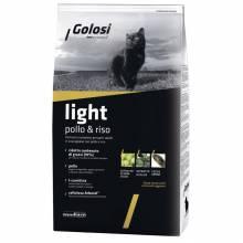 Golosi Cat Adult Light сухой корм для кошек с избыточным весом с курицей и рисом - 20 кг