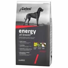 Golosi Dog Adult Energy сухой корм для активных и/или спортивных собак с курицей, говядиной и рисом 3 кг (12 кг)