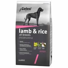 Golosi Dog Adult сухой корм для собак с ягненком и рисом 3 кг (12 кг)