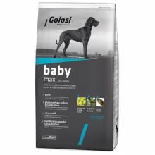 Golosi Dog Baby Maxi сухой корм для щенков крупных и гигантских пород с курицей и рисом 3 кг (12 кг)