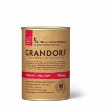 Grandorf beef With Turkey влажный корм для собак всех пород, говядина с индейкой - 400 г