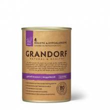 Grandorf wild Boar With Turkey влажный корм для собак всех пород, кабан с индейкой - 400 г