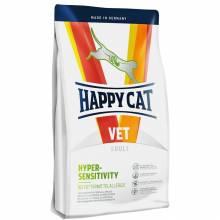 Happy Cat Hypersensitivity сухой корм для кошек при пищевой аллергии с перепелиным мясом 1,4 кг (4 кг)
