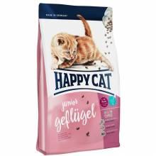 Happy Cat Supreme Junior Geflugel сухой корм для молодых кошек с домашней птицей 1,4 кг (4 кг) (10 кг)