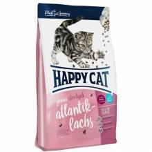 Happy Cat Supreme Junior Sterilised Atlantik-Lachs сухой корм для молодых стерилизованных кошек с лососем 1,4 кг (4 кг) (10 кг)