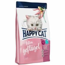 Happy Cat Supreme Kitten Geflugel сухой корм для котят с домашней птицей 1,4 кг (4 кг)