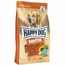 Happy Dog Premium NaturCroq Rind & Reis сухой корм для собак с говядиной и рисом 4 кг (15 кг)