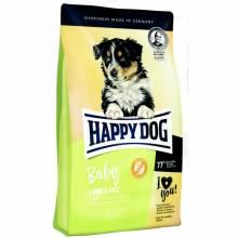 Happy Dog Baby Lamb & Rice сухой корм для щенков от 1 до 6 месяцев с ягненком и рисом 1 кг (2 кг) (10 кг)