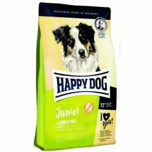 Happy Dog Junior Lamb & Rice сухой корм для щенков от 7 до 18 месяцев с ягненком и рисом 1 кг (10 кг)