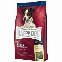 Happy Dog Mini Africa гипоаллергенный корм для собак мелких пород  1 кг (4 кг)