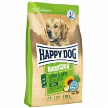 Happy Dog NaturCroq Lamm & Reis для собак с чувствительным пищеварением на основе ягненка и риса 1 кг (4 кг) (15 кг )