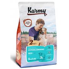 Karmy Mini Hypoallergrnic сухой корм для собак мелких пород в возрасте старше 1 года, склонных к пищевой аллергии  2 кг (15 кг)