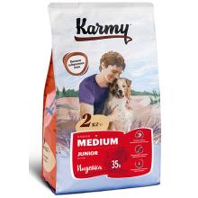 Karmy Medium Junior сухой корм для щенков средних пород в возрасте до 1 года (2 кг) (15 кг)