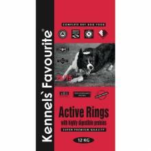 Kennels` Favourite Active Rings корм для взрослых собак со средним уровнем активности - 4 кг (20 кг)