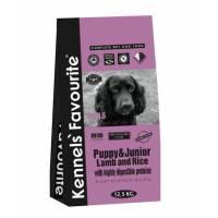 Kennels` Favourite Puppy & Junior сухой корм для щенков от 5 до 18 месяцев с ягненком и рисом - 20 кг