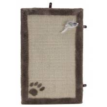 Beeztees 405718 когтеточка-коврик с мышкой беж 55*35 см