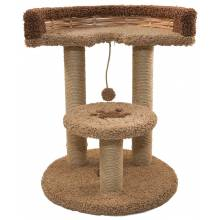 Когтеточка-комплекс Базилио Бублик для кошек 57х57х72