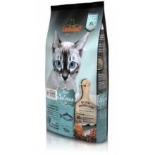 Leonardo Adult Salmon GF сухой беззерновой корм для взрослых кошек с чувствительным пищеварением с лососем 1,8 кг (7,5 кг)