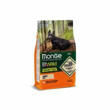 Monge Dog GRAIN FREE Mini Adult беззерновой корм для взрослых собак мелких пород утка с картофелем - 2,5 кг