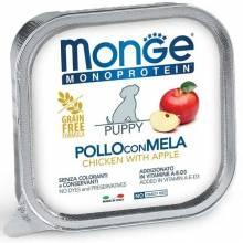 Monge Dog Monoprotein Solo паштет для щенков из курицы в консервах - 150 г х 24 шт
