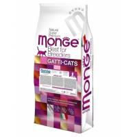 Monge Cat Adult сухой корм для для взрослых кошек с курицей 400 гр (1,5 кг) (10 кг)