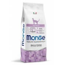Monge Cat Sterilized сухой корм для стерилизованных кошек с курицей 400 гр (1,5 кг) (10 кг)
