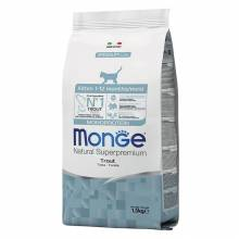 Monge Kitten Monoprotein сухой корм для котят с форелью - 1,5 кг