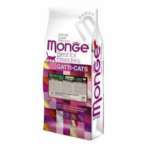 Monge PFB Cat BWild Grain Free беззерновой корм для крупных кошек всех возрастов из мяса буйвола - 10 кг